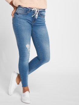 Noisy May Skinny Jeans nmLucy Nw Ankle blau