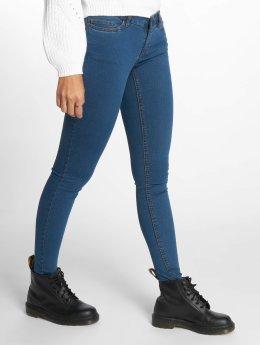 Noisy May Skinny jeans nmExtra Eve blauw