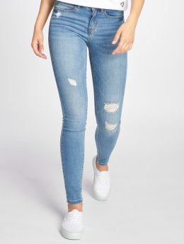 Noisy May Skinny Jeans nmLucy Coffee Dest blue