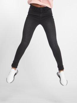 Noisy May Skinny Jeans nmLucy Pocket Piping schwarz