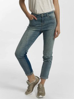 Noisy May Straight fit jeans nmKim blauw