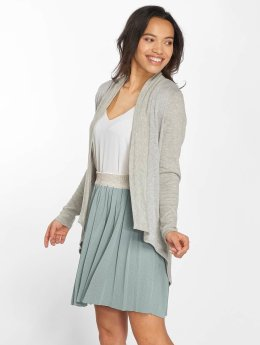 Noisy May Strickjacke nmRambo Knit grau