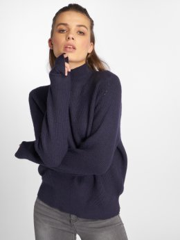 Noisy May Sweat & Pull nmSati Hole Knit bleu