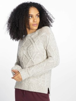 Noisy May Sweat & Pull nmCarina Knit gris