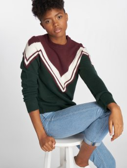 Noisy May Sweat & Pull nmBow Knit rouge