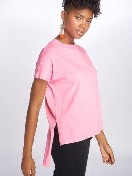 Noisy May T-paidat nmHelen Hi-Lo vaaleanpunainen