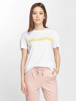 Noisy May T-Shirt Command blanc