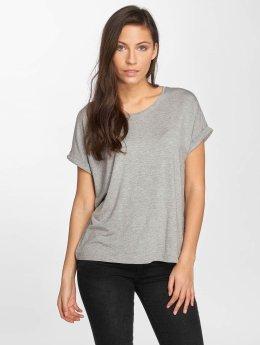 Noisy May t-shirt nmOyster grijs