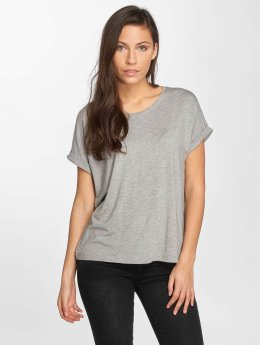 Noisy May T-Shirt nmOyster gris