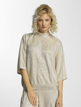 Noisy May | nmMissy  beige Femme T-Shirt manches longues