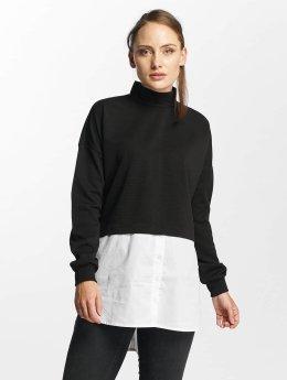 Noisy May T-Shirt manches longues nmYasi noir