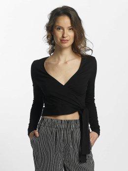 Noisy May T-Shirt manches longues Laila noir