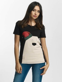 Noisy May T-Shirt nmNovelty Polarbear noir