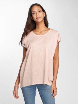 Noisy May T-shirt nmOyster rosa chiaro