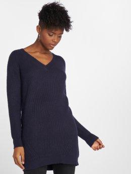 Noisy May Vestido nmSati Cable Knit azul