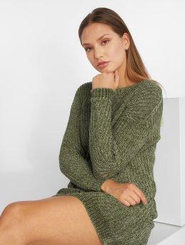 Noisy May Vestido nmMaria Knit oliva