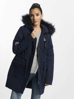 Noisy May winterjas nmLove blauw