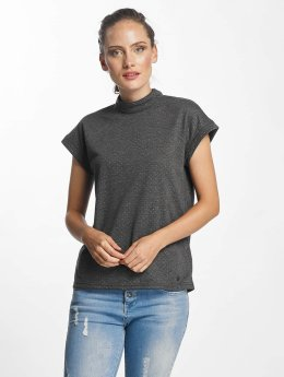 Nümph Hardykiwi High Neck T-Shirt Iron Gate