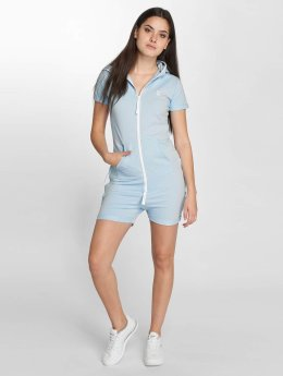 Onepiece Jumpsuit Fitted Short blau