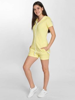 Onepiece Jumpsuit Fitted Short gelb