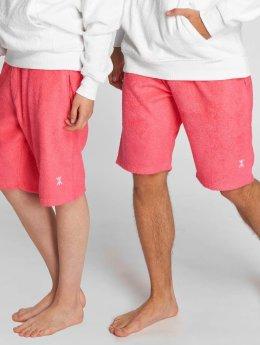 Onepiece Shortsit Towel vaaleanpunainen
