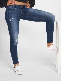 Only Облегающие джинсы onlCoral Sl Skinny синий