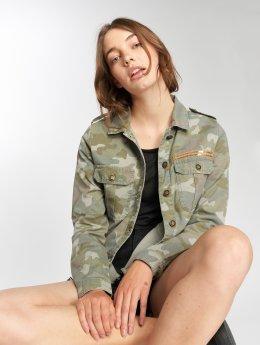 Only джинсовая куртка onlArwen  оливковый