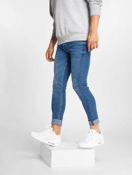 Only & Sons Облегающие джинсы onsWarp 393 Knee Cut синий