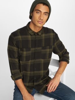 Only & Sons Camisa Onswillem Checked oliva