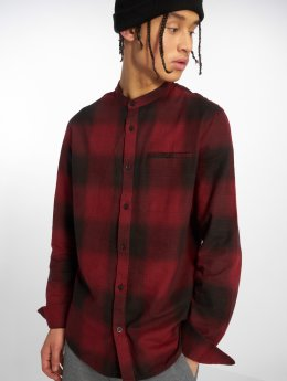 Only & Sons Camisa onsOrtan Flannel Check China rojo