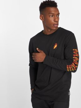 Only & Sons Camiseta de manga larga onsFlame negro