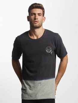 Only & Sons onsChris Dipdye Badge T-Shirt Light Grey Melange