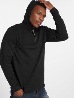 Only & Sons Hoody onsParker 12 Half Zip zwart