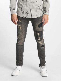 Only & Sons Jean slim onsLoom Destroy Patch gris