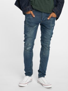 Only & Sons Jeans ajustado onsSpun Jog Damage azul