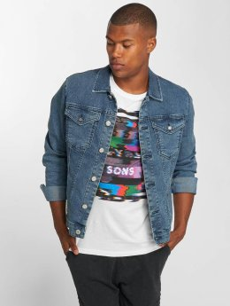 Only & Sons Jeansjacken onsCamp blau