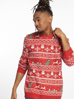Only & Sons Jumper onsXmas 7 Jaquard red
