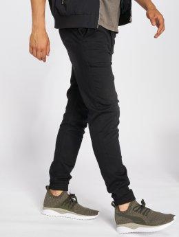 Only & Sons Látkové kalhoty onsAged Pk 0213 čern