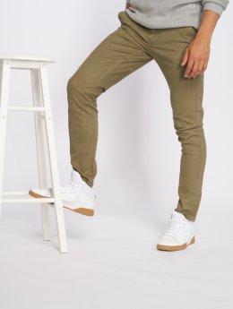 Only & Sons Látkové kalhoty onsTarp Chino Pk 0202 zelený