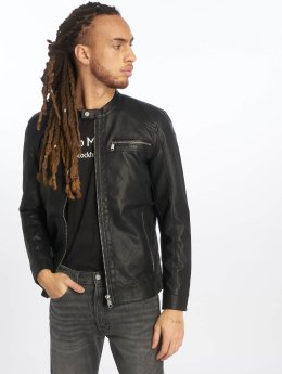 Only & Sons Leather Jacket onsKonrad black