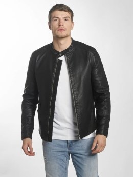 Only & Sons Lederjacke onsKris schwarz
