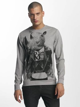 Only & Sons Longsleeve onsVIll Animal Print grijs