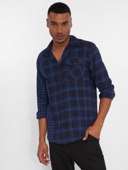 Only & Sons overhemd onsOcean Regular Rock blauw
