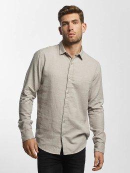 Only & Sons overhemd onsTudor grijs