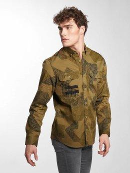 Only & Sons overhemd onsTank groen