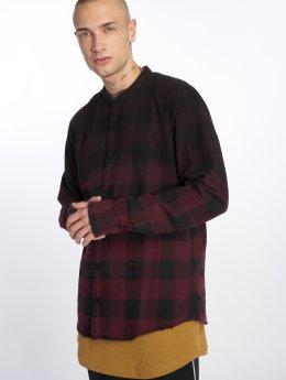 Only & Sons overhemd onsGudmund Dip Dye rood