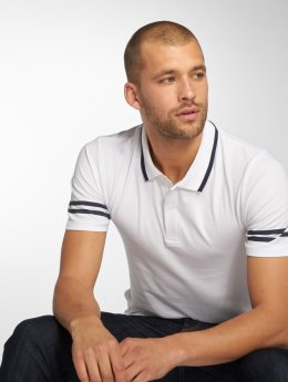 Only & Sons Polo trika onsPalle Muscle Fit bílý