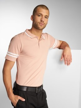 Only & Sons Polo trika onsPalle Muscle Fit Polo růžový