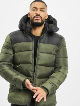 Only & Sons Puffer Jacket onsHeavy Colorblock grün