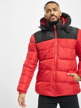 Only & Sons Puffer Jacket onsHeavy Colorblock red
